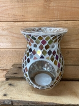 Copper and Gold wax warmer