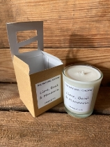 Lime Basil and Mandarin Soy Wax Candle